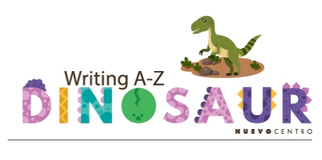 WRITING A-Z DINOSAUR